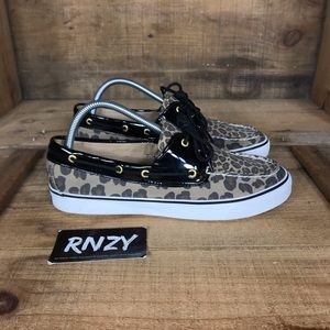 Sperry Top Sider Leopard Boat Shoe